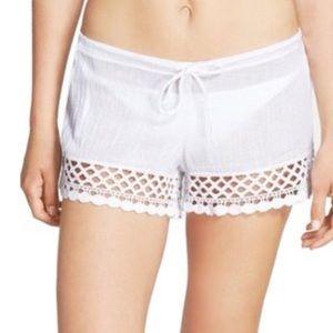 Becca by Rebecca Virtue Cotton Shorts